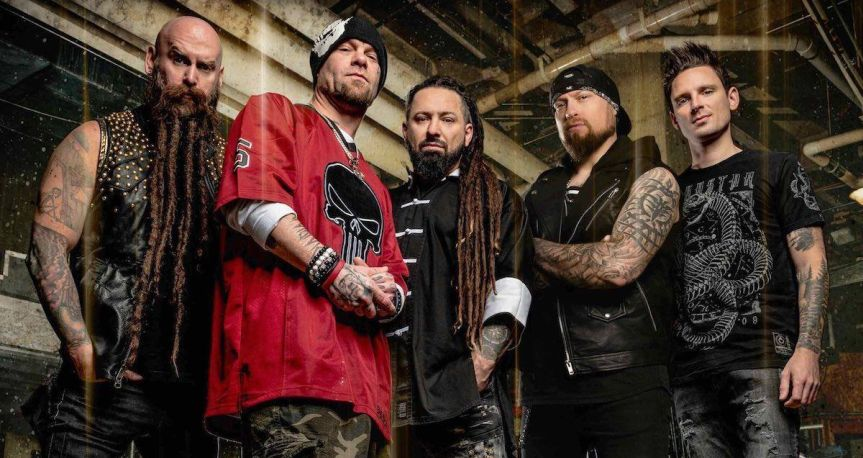 """Five Finger Death Punch release new video for """"Dot Your Eyes"""""""