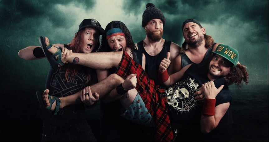 """Alestorm releases live video of pirate metal anthem """"Drink"""""""