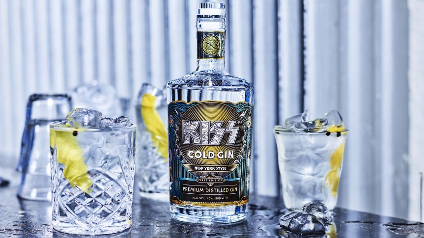Hot band (that's KISS btw) launches Cold Gin