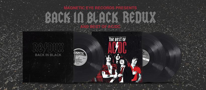 "Magnetic Eye Records launch ""Back in Black [Redux]"" & ""Best of AC/DC"" Kickstarter"