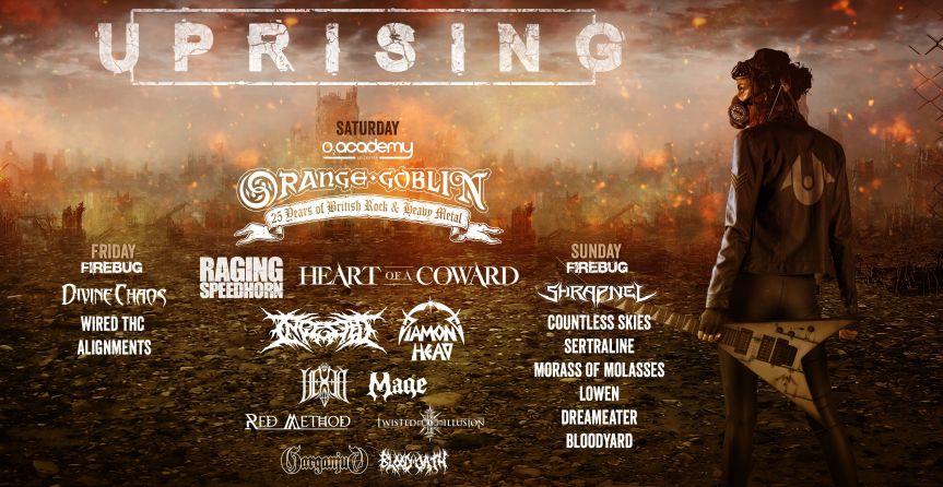 Uprising V announce headliner (and more)!