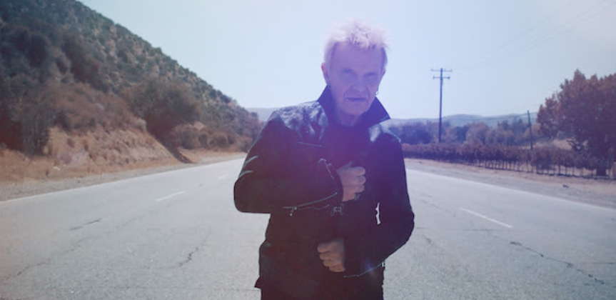 """Billy Idol announces new EP with first single """"Bitter Taste"""""""