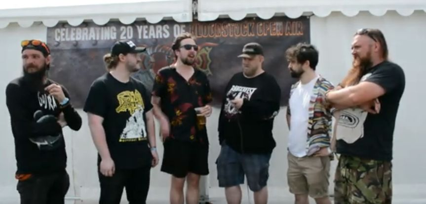 Bloodstock 2021 Video Interview: Raised By Owls