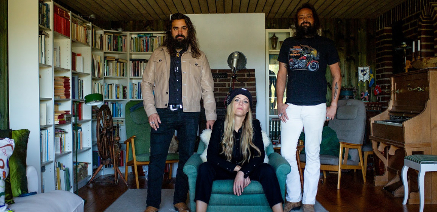 """The Picturebooks team up with Elin Larsson of Blues Pills for """"Too Soft To Live And Too Hard To Die"""""""