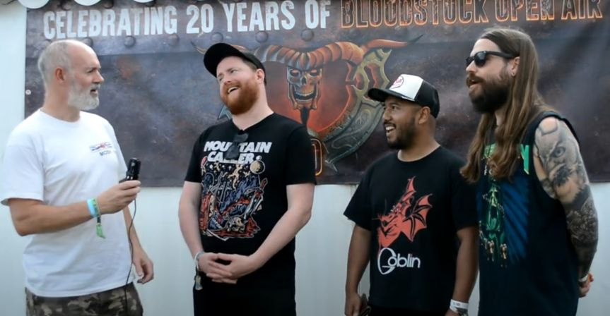 Bloodstock 2021 Video Interview: Urne