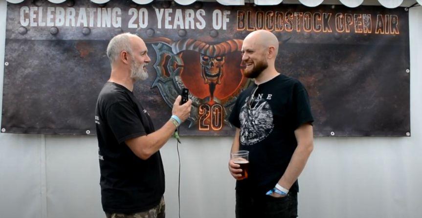 Bloodstock 2021 Video Interview: Chris Fielding of Conan