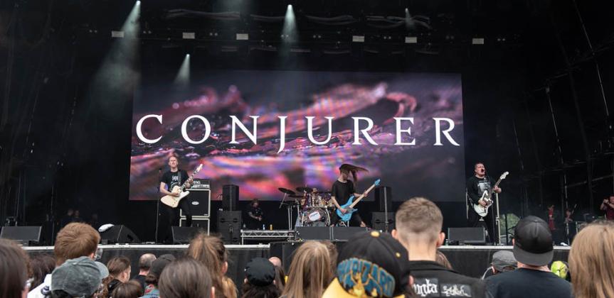 Bloodstock 2021 Video Interview: Conjurer