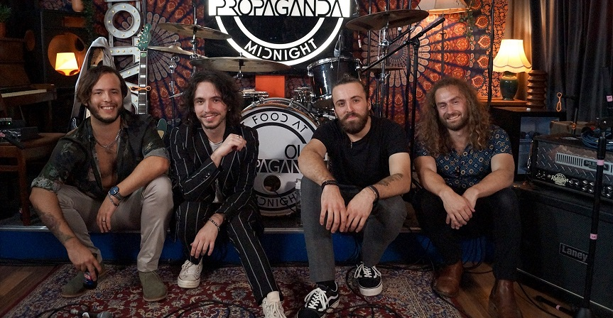 Our Propaganda release new single, album news and Isle Of Wight performance